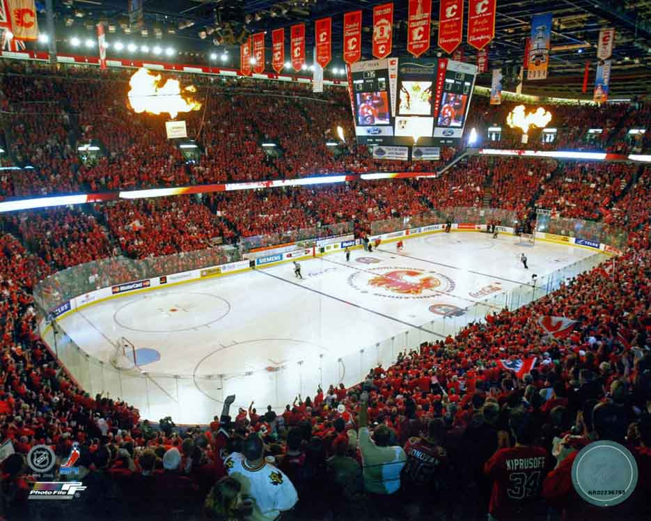 Calgary Flames - C Of Red - 8x10 Photo