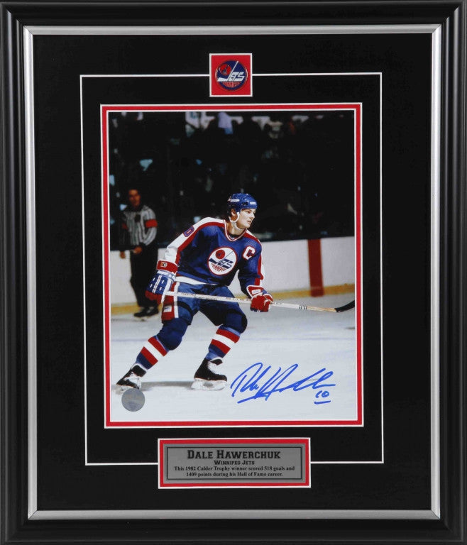 Dale Hawerchuk Winnipeg Jets Autographed 11x14 Photo