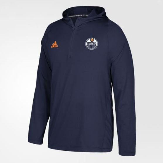 Edmonton Oilers Authentic NHL Training Hoodie