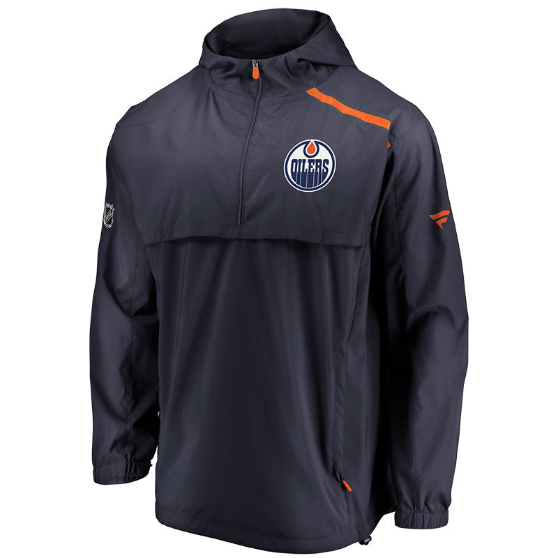 Edmonton Oilers Authentic Pro Rinkside Anorak Jacket
