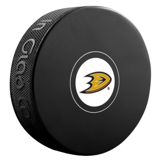Anaheim Ducks Unsigned Puck
