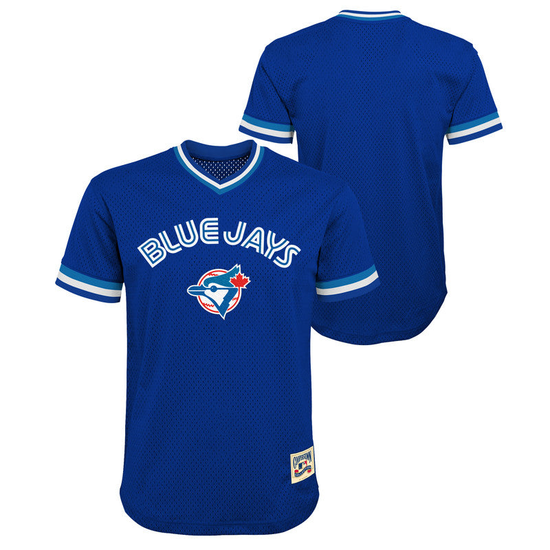 Toronto Blue Jays Youth V-Neck Fashion Top