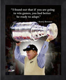 Scotty Bowman Detroit Red Wings 11x14 Pro Quote
