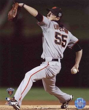 Tim Lincecum San Francisco Giants Action 8x10 Photograph