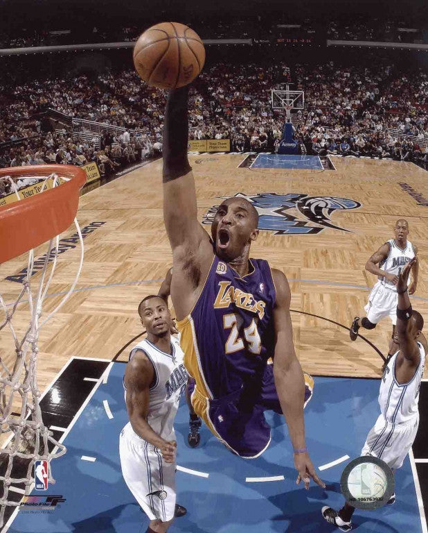 Kobe Bryant Los Angeles Lakers 8x10 Photograph