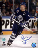 Doug Gilmour Toronto Maple Leafs - Crossover - Signed 8x10 Photo
