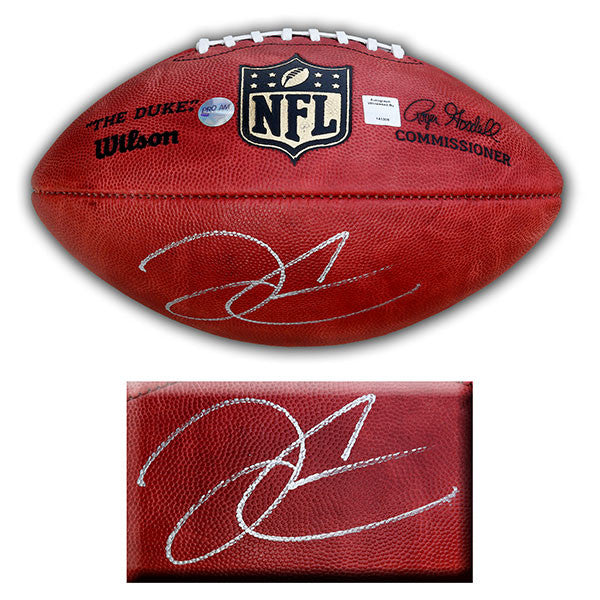 Derek Carr Signed Wilson Official NFL Game Ball