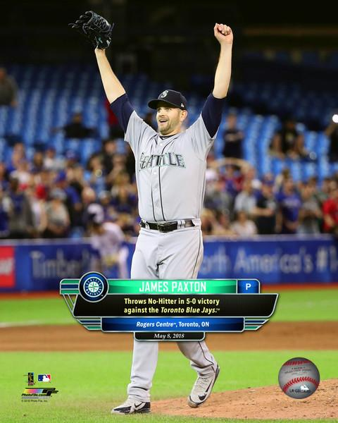 James Paxton Seattle Mariners 11x14 Photograph