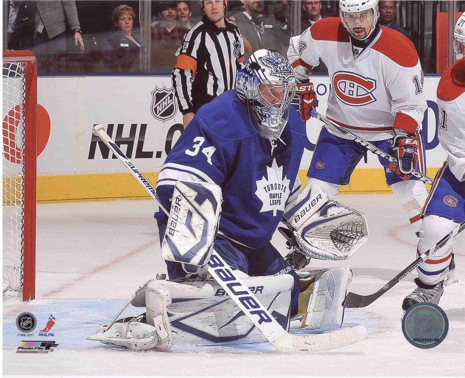 James Reimer Toronto Maple Leafs 8x10 Photograph