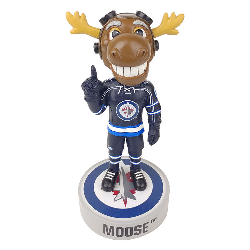 Winnipeg Jets Mascot Logo Base Bobblehead