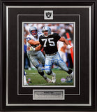 Howie Long Los Angeles Raiders Autographed 8x10 Photo