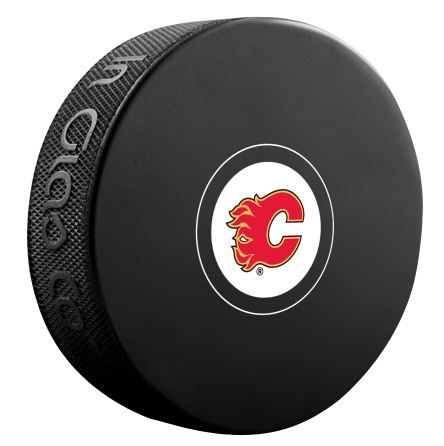 Calgary Flames Unsigned Puck
