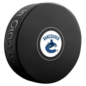 Vancouver Canucks Unsigned Puck