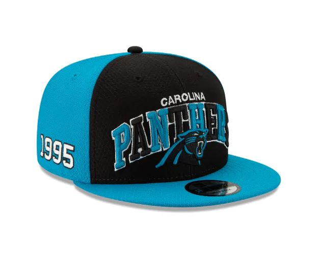 Carolina Panthers New Era 9Fifty 2019 NFL Sideline Cap
