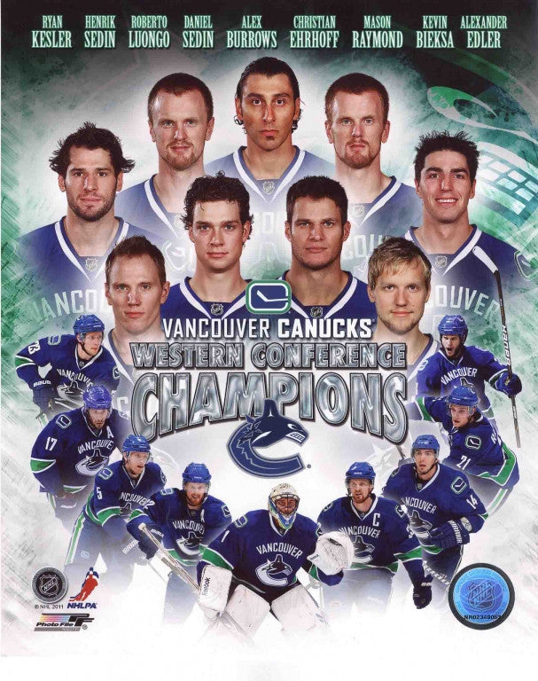 Vancouver Canucks 8x10 Photograph