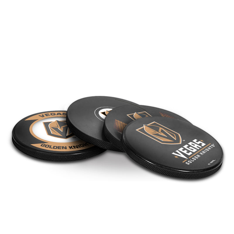 Vegas Golden Knights Puck Coaster Set