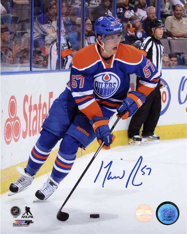 David Perron Edmonton Oilers Autographed 8x10 Photo