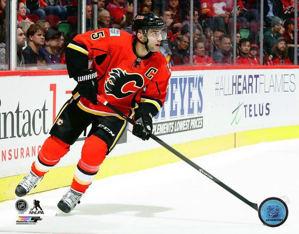 Mark Giordano Calgary Flames 8x10 Photograph