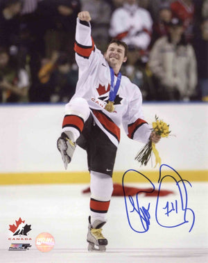 Theo Fleury Team Canada Autographed 11x14 Photo