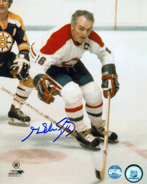 Henri Richard Montreal Canadiens Autographed 8x10 Photo
