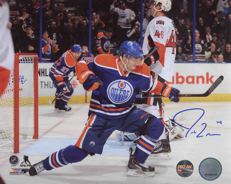 8c0c3cbdd Jordan Eberle Edmonton Oilers Autographed 11x14 Photo – Pro Am Sports