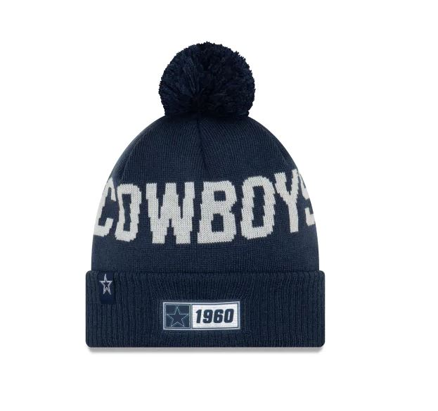 Dallas Cowboys New Era 2019 Sideline Cuff Knit