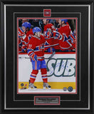 Brendan Gallagher Montreal Canadiens Signed First Goal Celebration 11x14