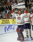 Patrick Roy - Montreal Canadiens 1993 Cup Signed 8x10 Photo