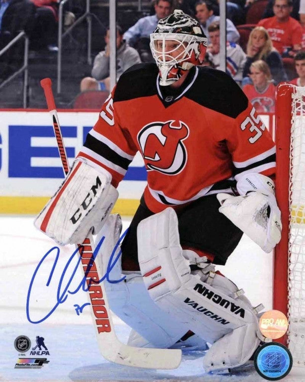 Cory Schneider New Jersey Devils Autographed 8x10 Photo