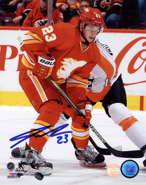 Sean Monahan Calgary Flames Autographed 8x10 Photo