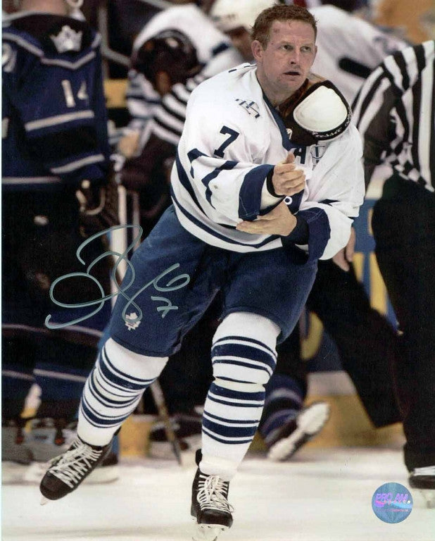 Gary Roberts Toronto Maple Leafs Autographed 8x10 Photo
