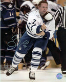 Gary Roberts Toronto Maple Leafs Post Fight Signed 8x10 Photo