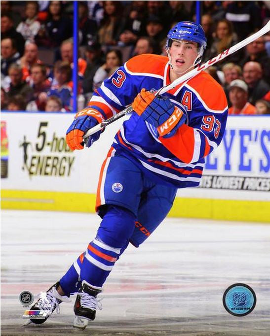 Ryan Nugent-Hopkins Edmonton Oilers Unsigned 8x10 Photograph