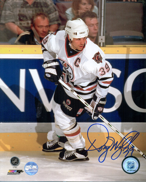 Doug Weight Edmonton Oilers Signed 11x14 Photo