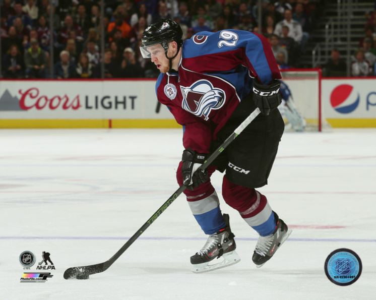 Nathan MacKinnon Colorado Avalanche 8x10 Photograph