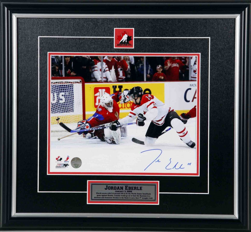 Jordan Eberle Team Canada Autographed 11x14 Photo