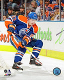 Ryan Nugent-Hopkins Edmonton Oilers Unsigned Behind Net 16x20 Photo