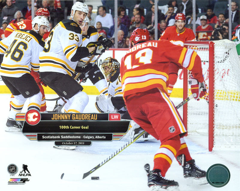 Johnny Gaudreau Calgary Flames 8x10 Photograph