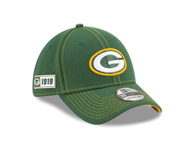 Green Bay Packers New Era 39Thirty 2019 NFL Sideline Cap