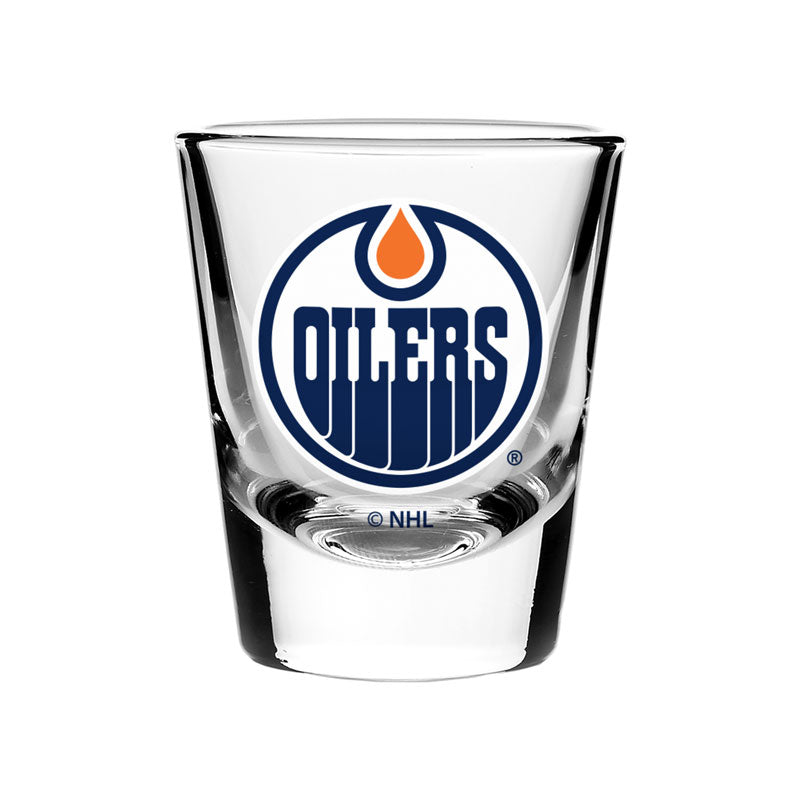 Edmonton Oilers 2oz Shot Glass