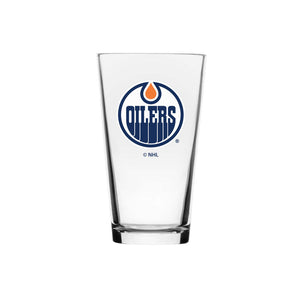 Edmonton Oilers 16oz Mixing Glass
