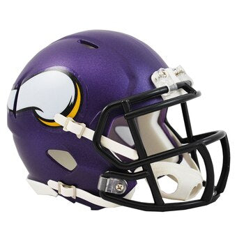 Minnesota Vikings Riddell Speed Mini Helmet