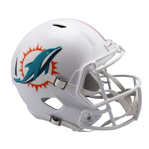 Miami Dolphins Riddell Speed Replica Helmet