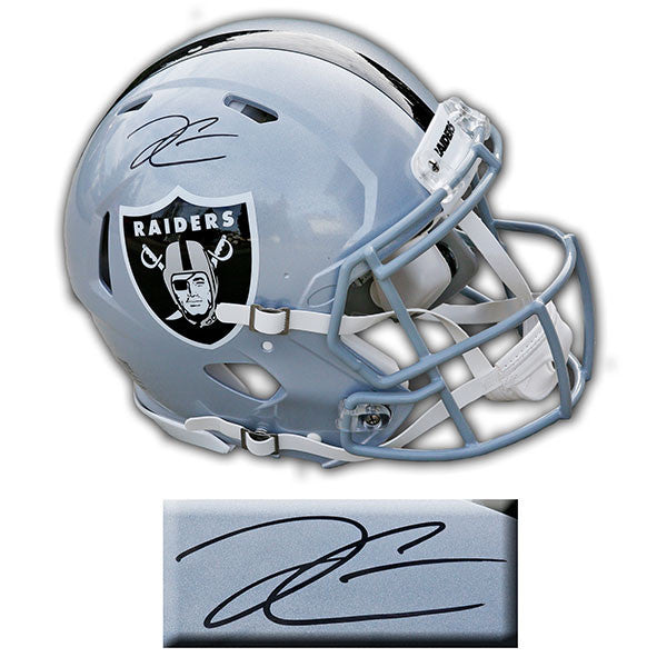 Derek Carr Las Vegas Raiders Signed Speed Authentic Helmet