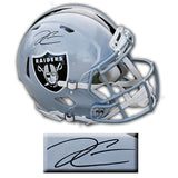 Derek Carr Oakland Raiders Signed Speed Authentic Helmet