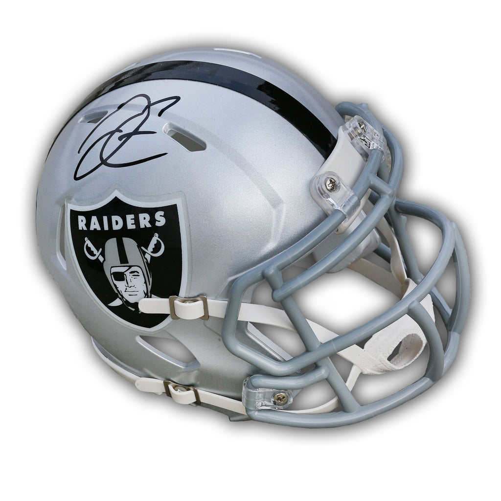 Derek Carr Las Vegas Raiders Signed Mini Helmet