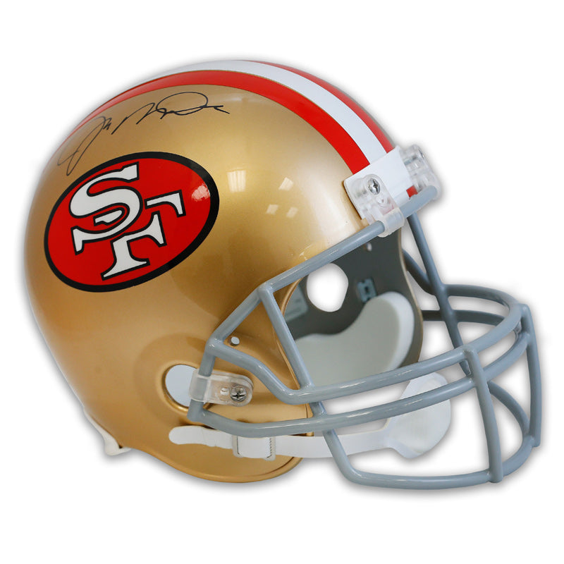 Joe Montana San Francisco 49ers Signed NFL Deluxe Replica Helmet