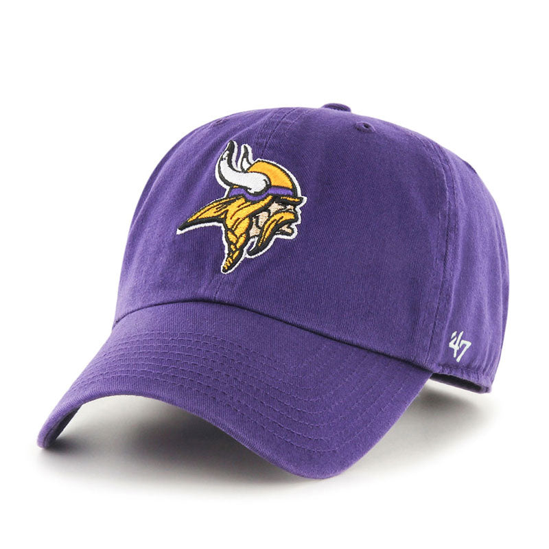Minnesota Vikings '47 Clean Up Cap