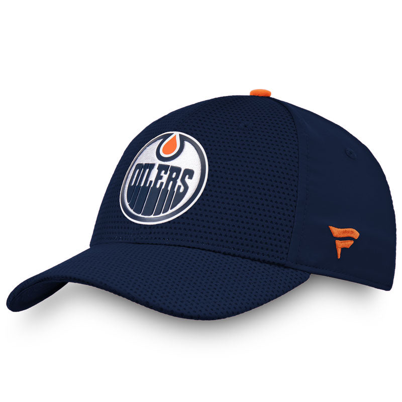 Edmonton Oilers Authentic Pro Rinkside Stretch Fit Cap