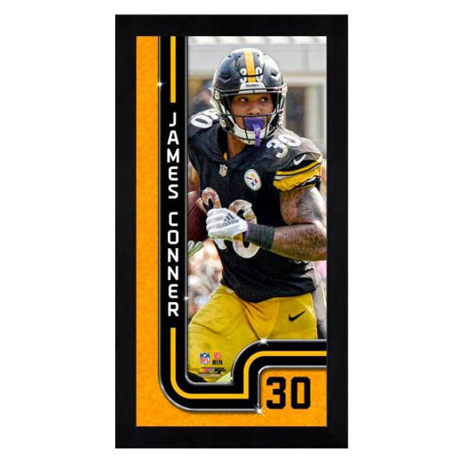 James Conner Pittsburgh Steelers Mini Frame